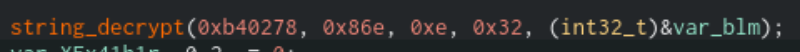 string decryption function